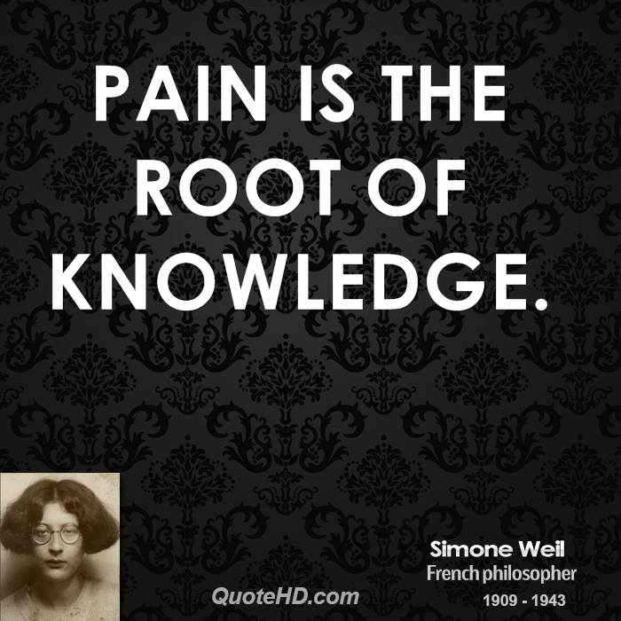 Pain-is-the-root-of-knowledge